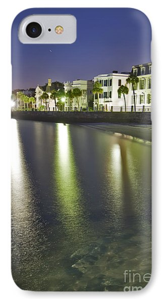 Charleston Battery Row At Dawn IPhone Case by Dustin K Ryan