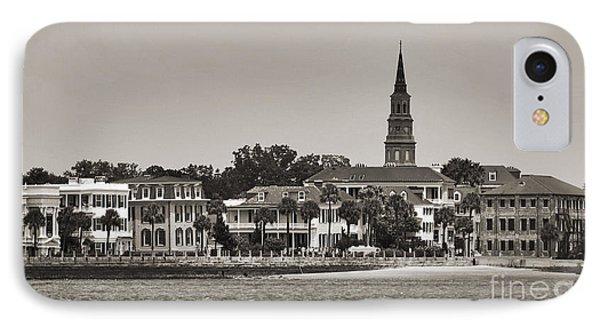 Charleston Battery South Carolina Sepia IPhone Case by Dustin K Ryan