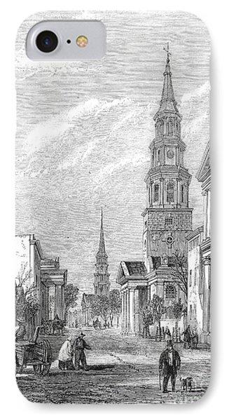 Charleston: Church, 1861 Phone Case by Granger