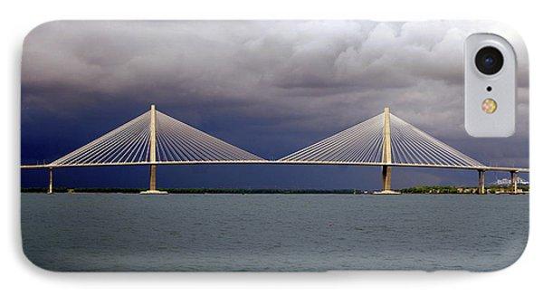 Charleston Ravenel Bridge Phone Case by Skip Willits