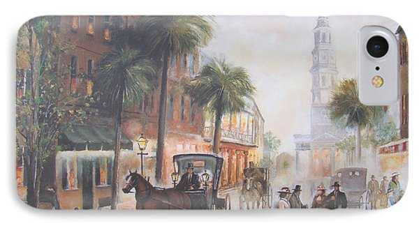 Charleston Somewhere In Time Phone Case by Charles Roy Smith