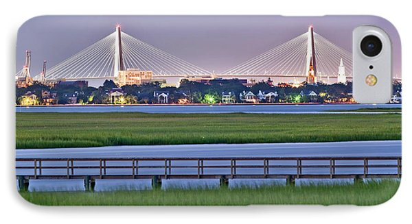 Charleston South Carolina Skyline IPhone Case