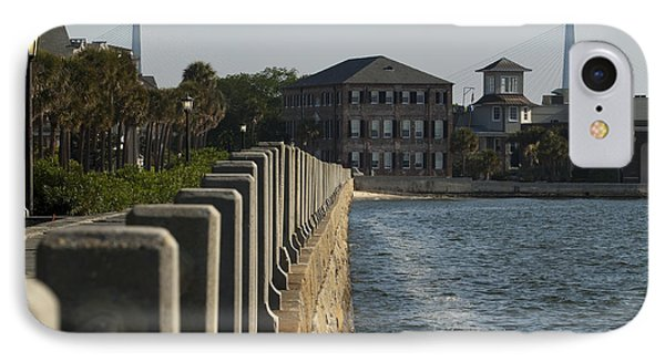 Charleston South Carolina Waterfront Battery Phone Case by Dustin K Ryan