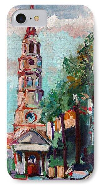 Charleston St Phillips Church IPhone Case