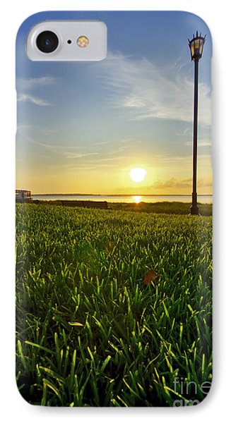 Charleston Waterfront Park Sunrise 3 Phone Case by Dustin K Ryan