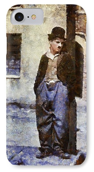 Charlie Chaplin Hollywood Legend IPhone Case