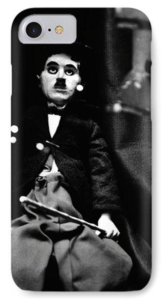 Charlie Chaplin Marionette IPhone Case