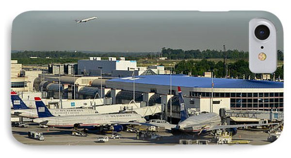 Charlotte Douglas International Airport IPhone Case by David Oppenheimer
