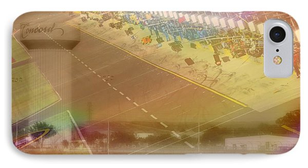 Charlotte Motor Speedway IPhone Case by Kenneth Krolikowski