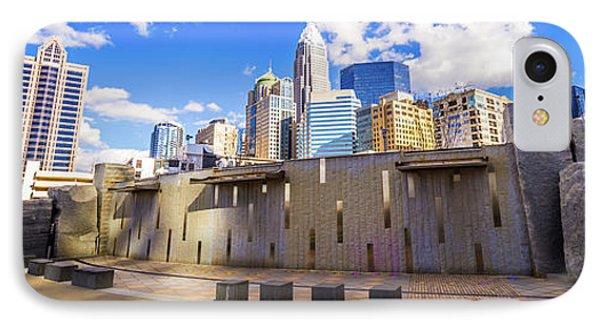Charlotte North Carolina Panorama Photo IPhone Case