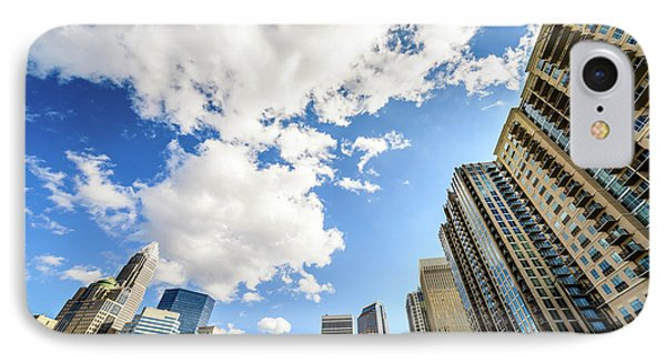 Charlotte Skyline Ultra Wide Angle Photo IPhone Case