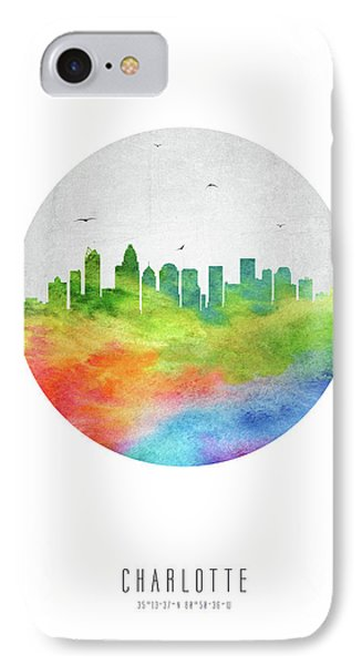 Charlotte Skyline Usncch20 IPhone Case