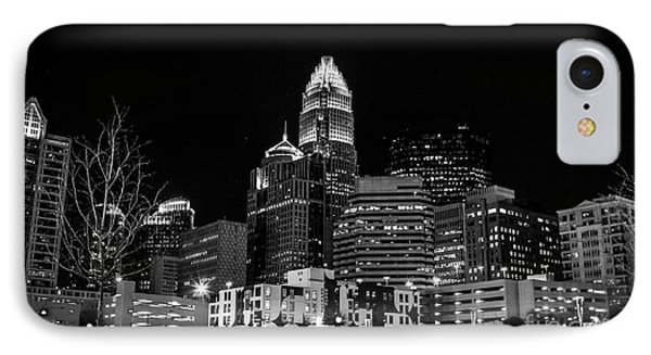 Charlotte The Queen City IPhone Case by Robert Yaeger