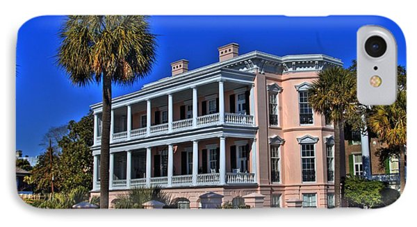Charlston Battery Mansion Phone Case by Corky Willis Atlanta Photography