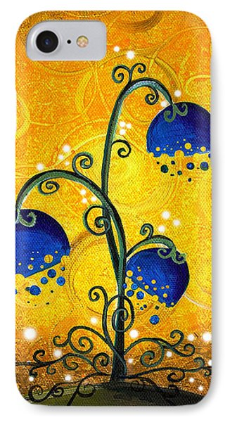 Charmed September Phone Case by Cindy Thornton
