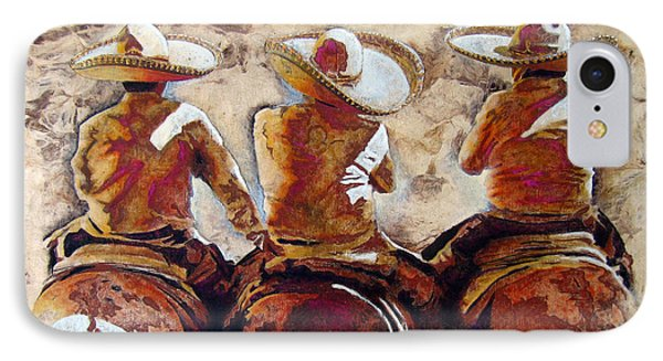 Charros IPhone Case by J- J- Espinoza