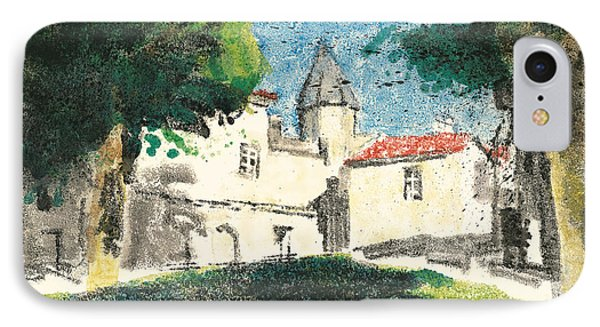 Chartreuse Avignon IPhone Case by Martin Stankewitz