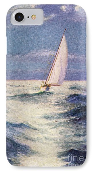 Chas Marer - Sailboat Phone Case by Hawaiian Legacy Archive - Printscapes