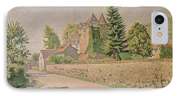 Chateau De Comblat IPhone Case