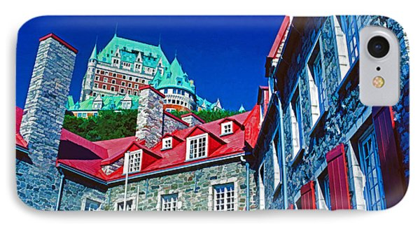 Chateau Frontenac Phone Case by Dennis Cox