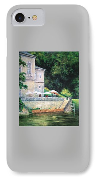 Chateau On The Lot River IPhone Case