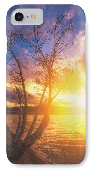 IPhone Case featuring the photograph Chatfield Lake Sunset by Darren White