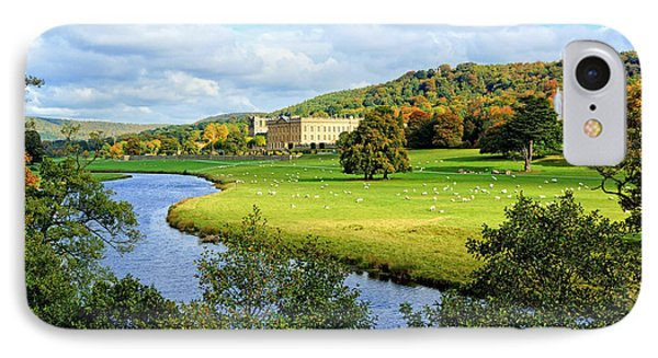 Chatsworth House View IPhone Case