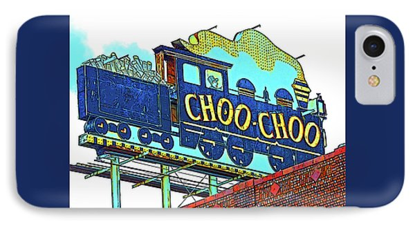 Chattanooga Choo Choo Sign On A Sunny Day IPhone Case