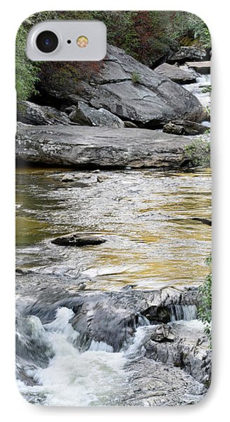 Chattooga River In Sc IPhone Case by Bruce Gourley