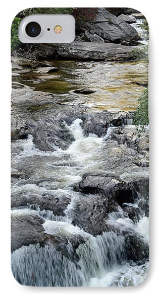 Chattooga River In South Carolina IPhone Case by Bruce Gourley