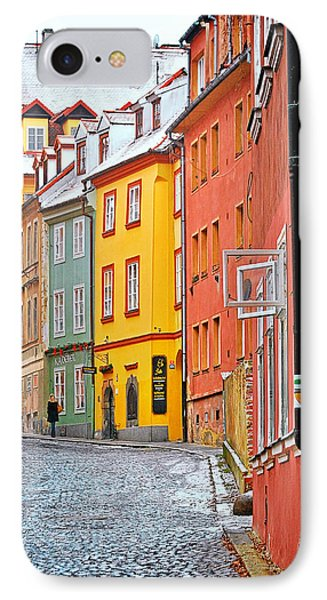 Cheb An Old-world-charm Czech Republic Town Phone Case by Christine Till