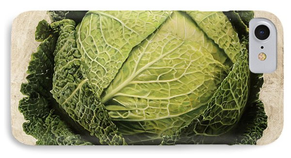 Cabbage iPhone 7 Case - Checcavolo by Danka Weitzen