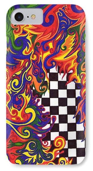 Checkers  Phone Case by Mandy Shupp