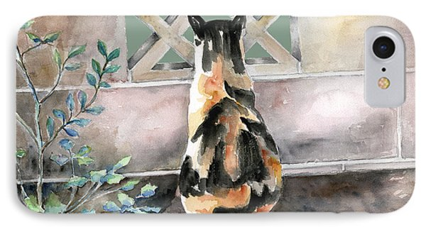 Checking Out The Neighbors Backyard Phone Case by Arline Wagner