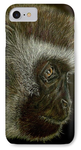 Cheeky Monkey IPhone Case by Heidi Kriel