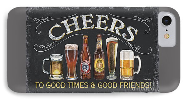 Cheers  IPhone Case by Debbie DeWitt