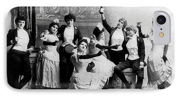 Beer iPhone 7 Case - Cheers Ladies by Jon Neidert