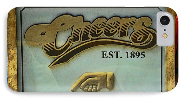 Cheers, Where Everybody  Knows Your Name - Boston      IPhone Case