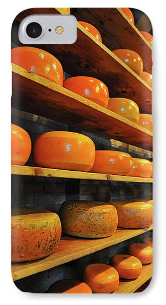 IPhone Case featuring the photograph Cheese In Holland by Harry Spitz