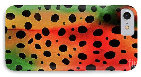 Cheetah Animal Print 5 Mug IPhone Case by Edward Fielding