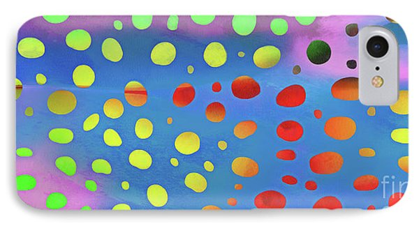 Cheetah Animal Print Colorful Mug IPhone Case by Edward Fielding