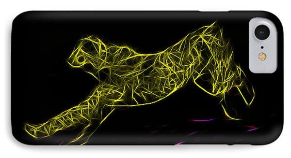 Cheetah Body Built For Speed IPhone 7 Case by Miroslava Jurcik