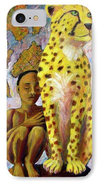 Cheetah Boy IPhone Case