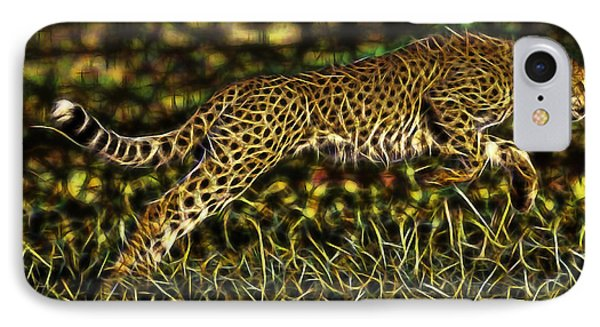 Cheetah Collection IPhone Case by Marvin Blaine
