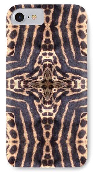 Cheetah Cross Phone Case by Maria Watt