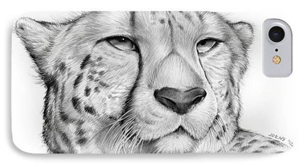 Cheetah IPhone Case by Greg Joens
