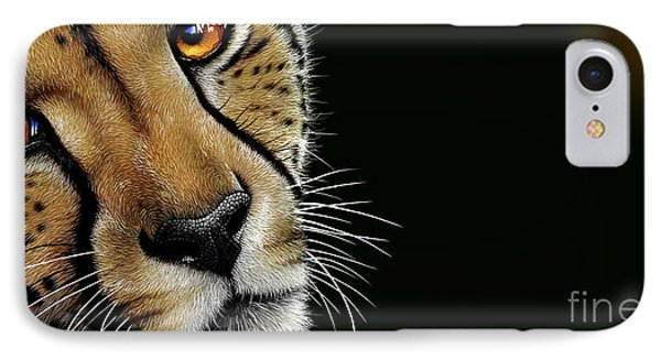 Cheetah IPhone Case by Jurek Zamoyski