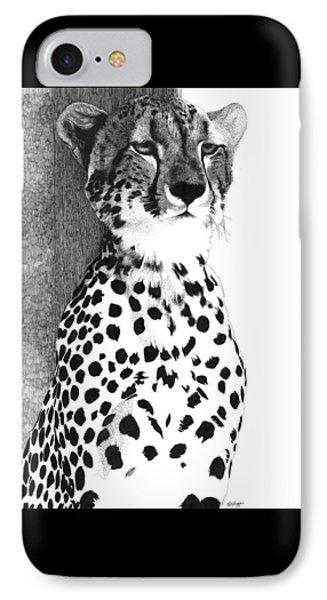 Cheetah IPhone Case by Pat Huggins