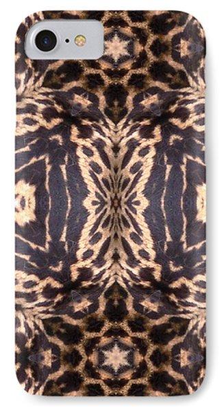 Cheetah Print Phone Case by Maria Watt