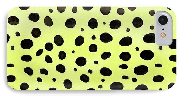 Cheetah Skin Mug IPhone Case by Edward Fielding